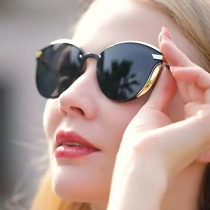 KINGSEVEN Womens Cat Eye Polarized Sun Glasses